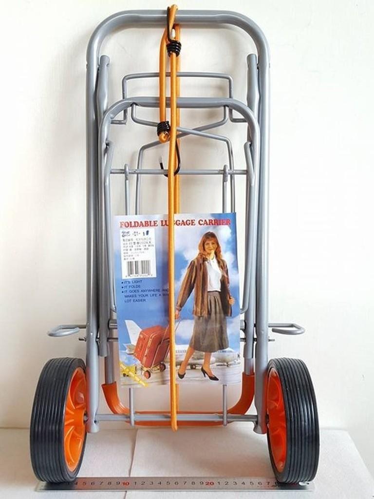 阿事的店行李車202A 大輪NG 車行李車手推車手拉車登機箱手推車收納折疊式 車