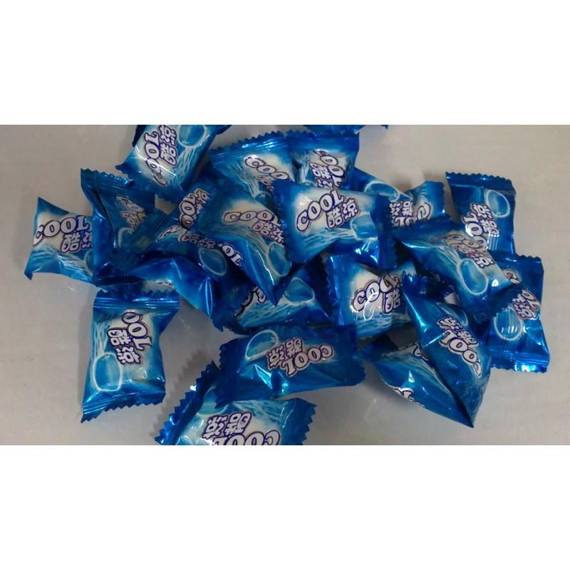 sns 古早味糖果COOL 酷涼糖3kg 藍色薄荷糖清涼有勁