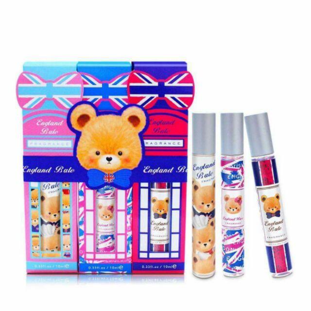 ( ) 專櫃英國貝爾花漾典藏香水筆3 入組