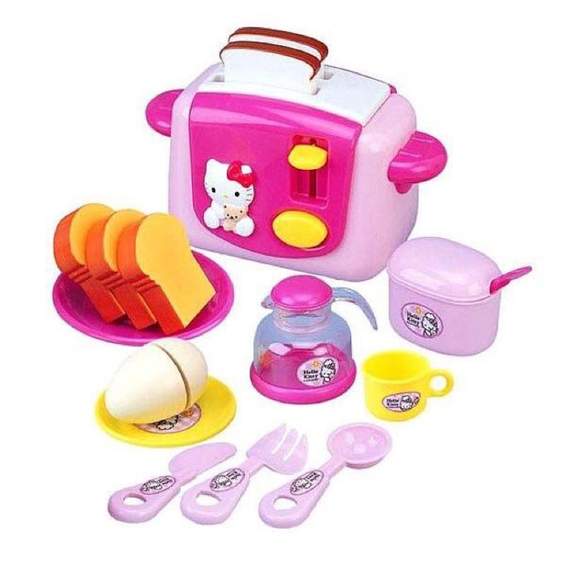 三麗鷗Hello Kitty 烤麵包機組扮家家酒