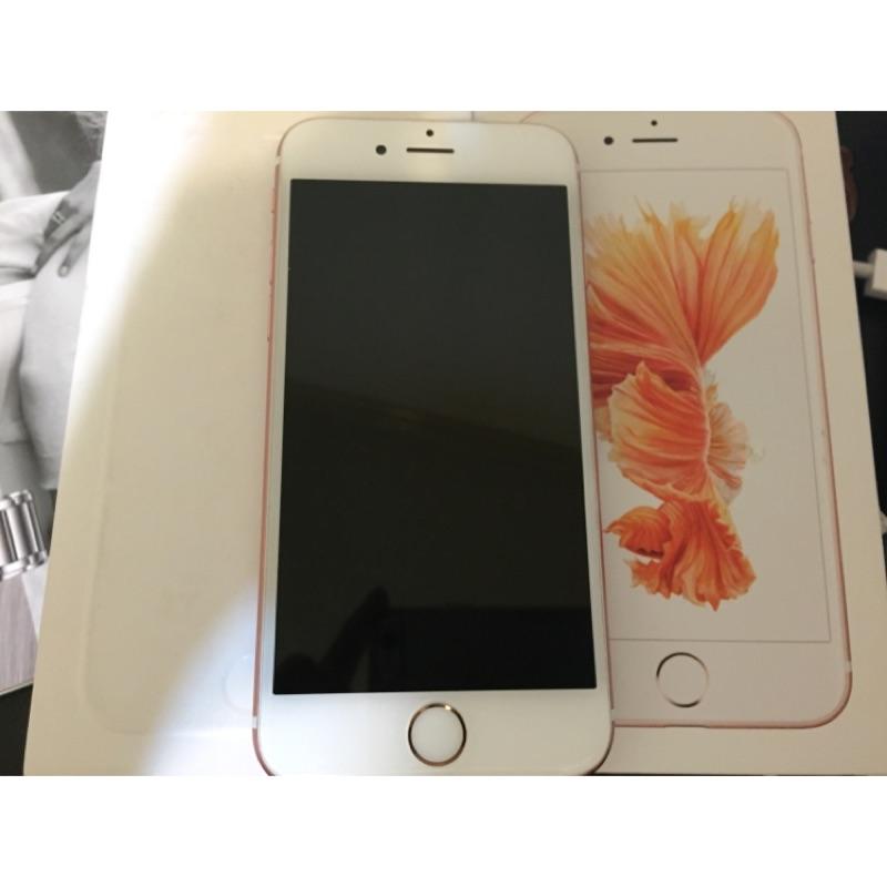 [已售出][65 折9 成新]iPhone 6s 16g 玫瑰金台積電版~自售女用空機
