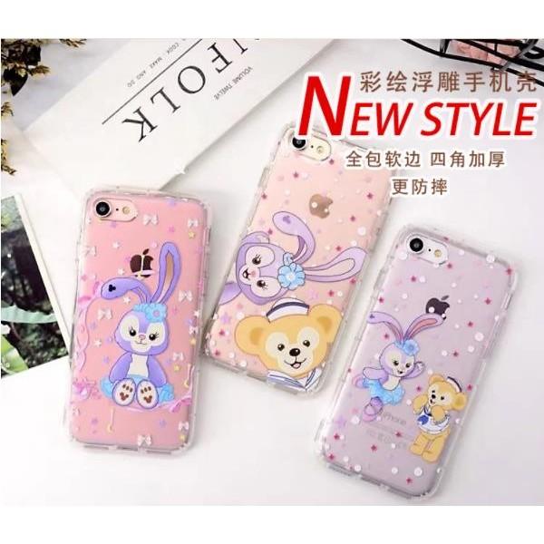 iphone6 6s 兔子空壓氣墊殼iphone6plus 6splus 泰迪熊手機殼防摔