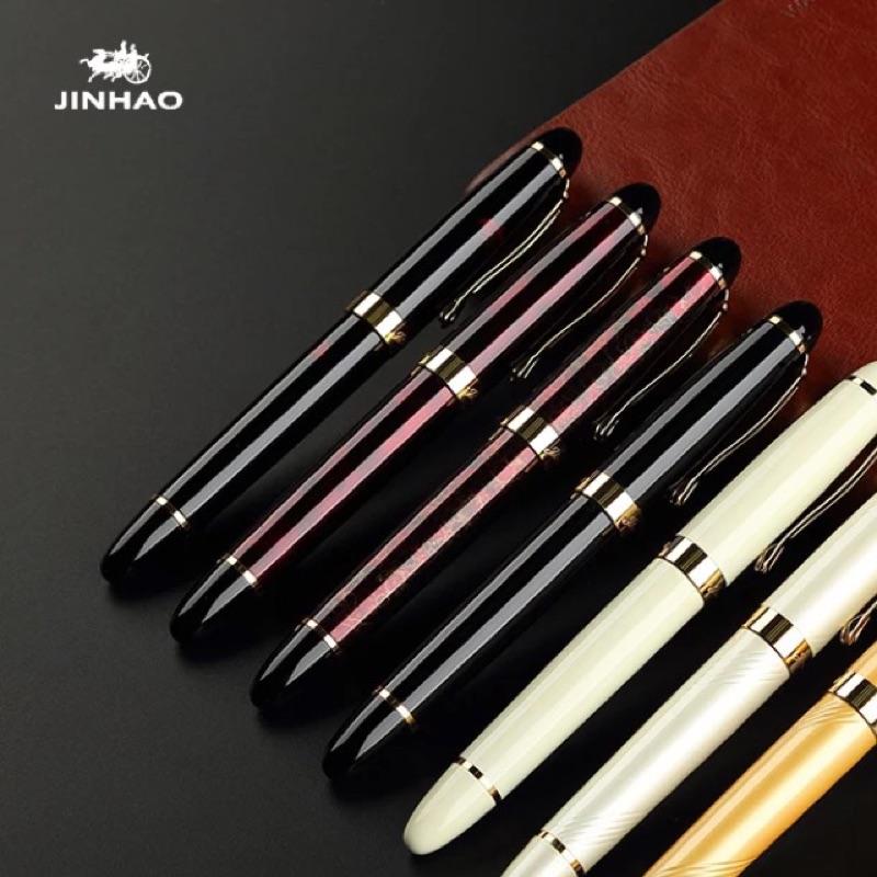 金豪X450 銥金筆大班筆商務簽名鋼筆練字書法美工筆