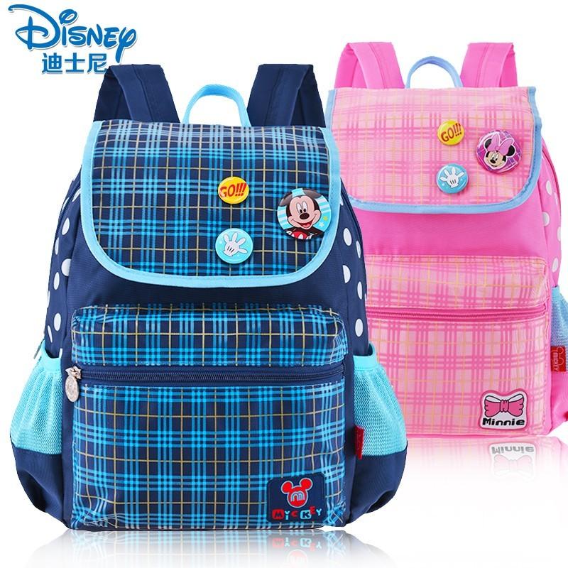 ~家居樂~男童書包幼兒園中大班兒童背包一年級女迪士尼米奇書包輕薄學前班