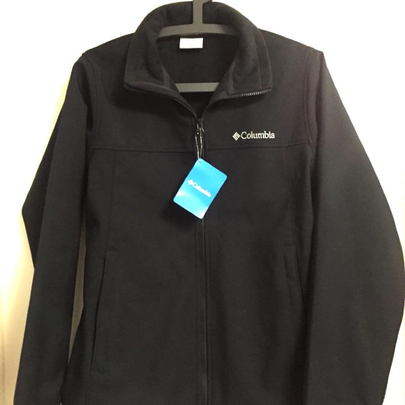 Columbia 哥倫比亞-男士刷絨防風外套