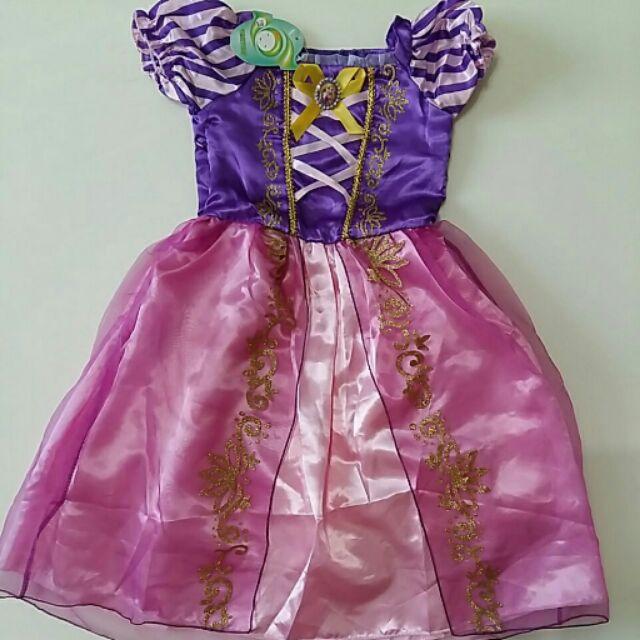 樂佩長髮公主禮服萬聖節聖誕節禮服