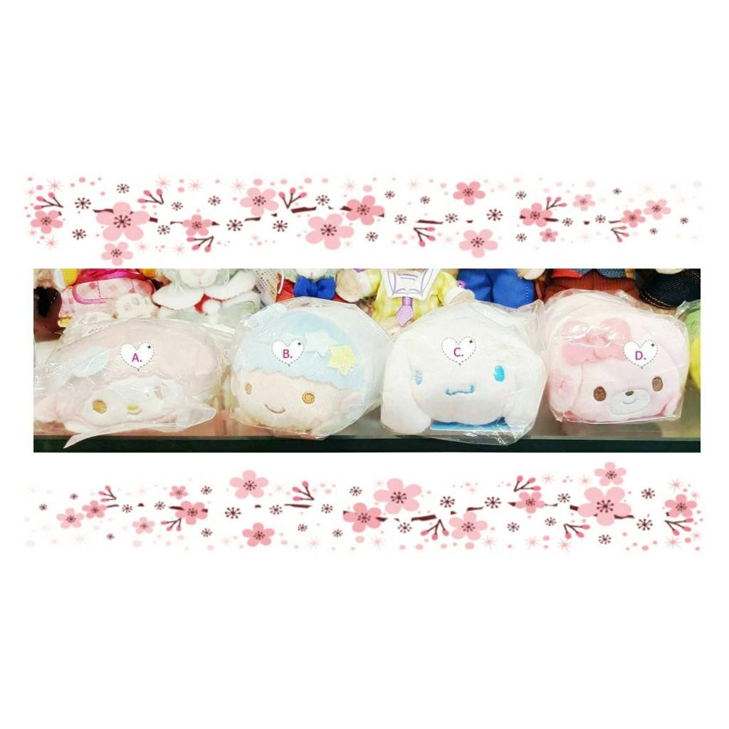 ~Pink の寶舖~ 代買 三麗鷗 TSUM TSUM 絨毛玩偶擺飾飾品九款 129