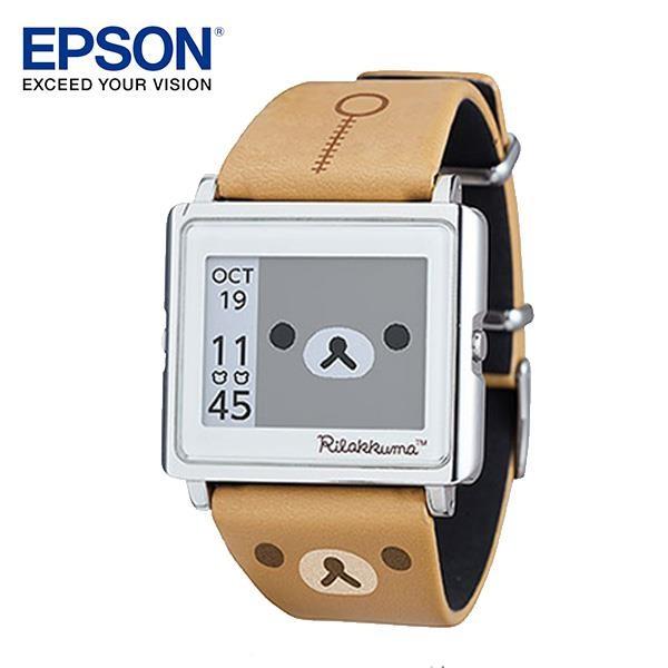 EPSON Rilakkuma 拉拉熊手錶 精工 輕巧薄型外觀