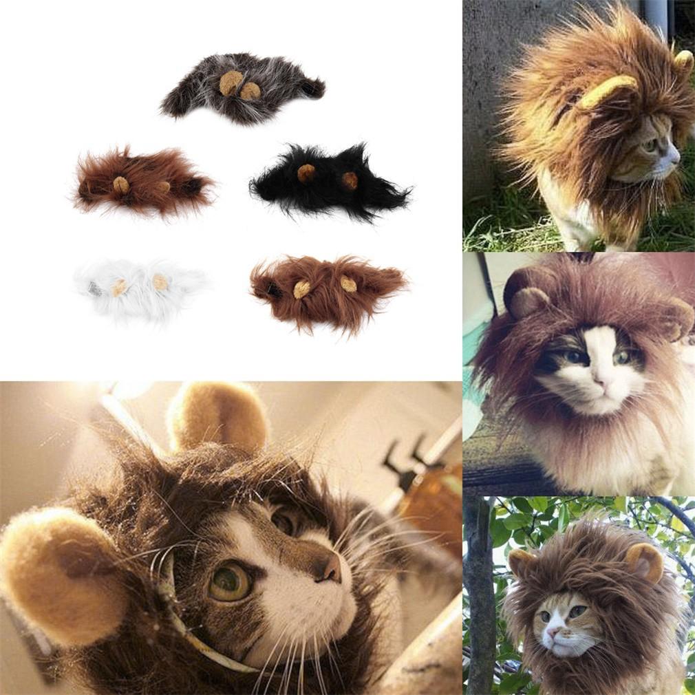 ~ ~超萌貓咪變獅子獅子帽貓咪帽 寵物服裝獅子鬃毛假髮