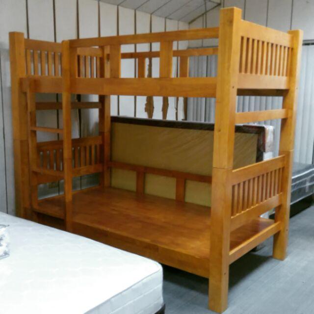 ~新北大~AA60 3 大方柱3 5 尺實木雙層床