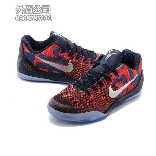 Nike Kobe 9 IX EM KB9 LOW XDR 紫紅藍男款40 46