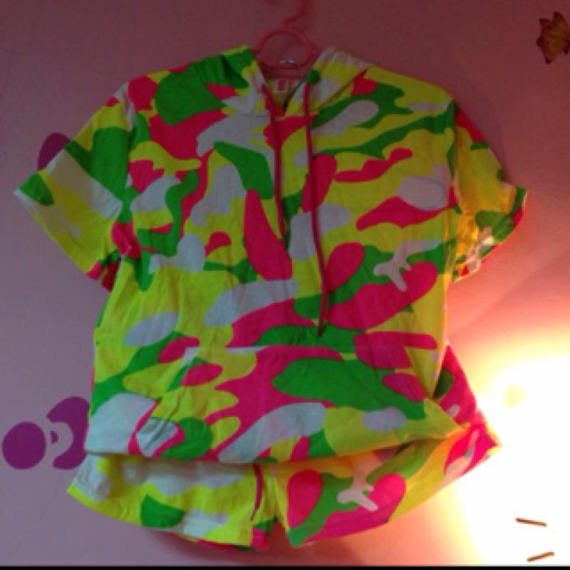 螢光迷彩套裝