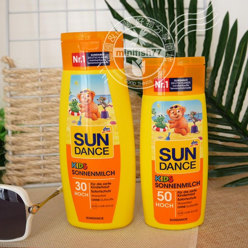 德國 德國購買德國SUN DANCE 兒童防曬霜防曬乳LSF30 防水300ml LSF5