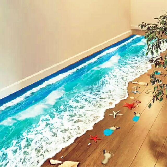 3D 立體風景貼紙限黑貓寄出或台南面交