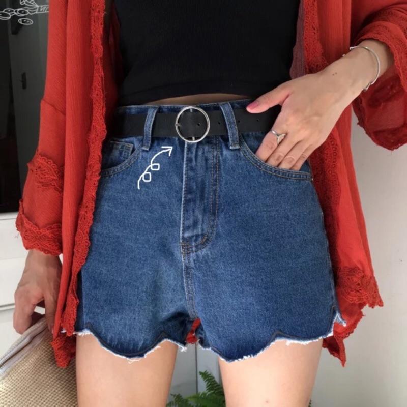 褲帶 韓國復古潮流百搭圓扣PU 皮休閒裝飾女士腰帶皮帶女