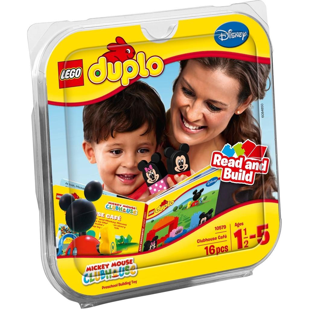 高雄好時光Lego 樂高Duplo 得寶系列10579 米奇俱樂部咖啡店米妮 未拆
