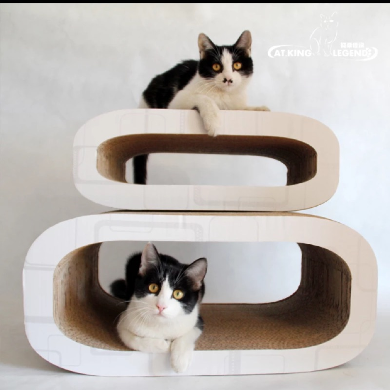 呂字型貓床貓抓板尺寸:大小大小