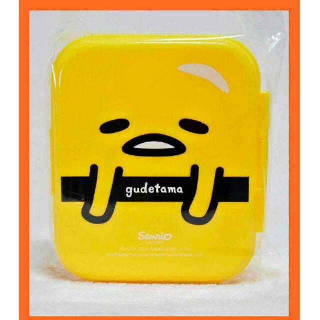 香港蛋黃哥收納盒一個方形B 自用或贈禮 陪買家帶來好運事業工作順利三麗鷗Sanrio