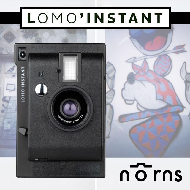 NORNS ~LomoInstant 拍立得相機黑色單機~lomography 無限重曝B