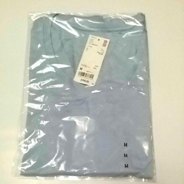 Uniqlo supima cotton 圓領長袖T