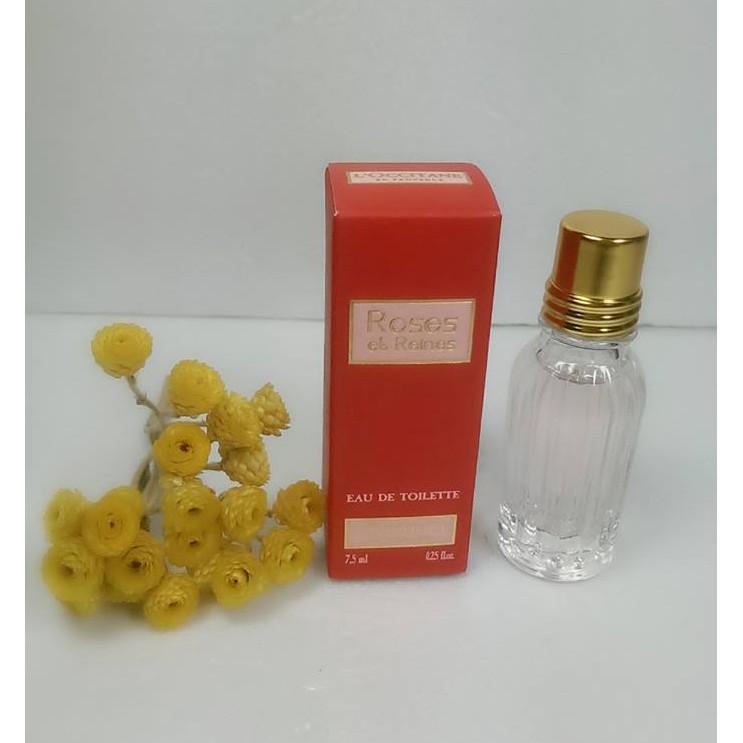 最愛歐舒丹小屋 L OCCITANE 歐舒丹玫瑰皇后淡香水7 5ml 隨身瓶