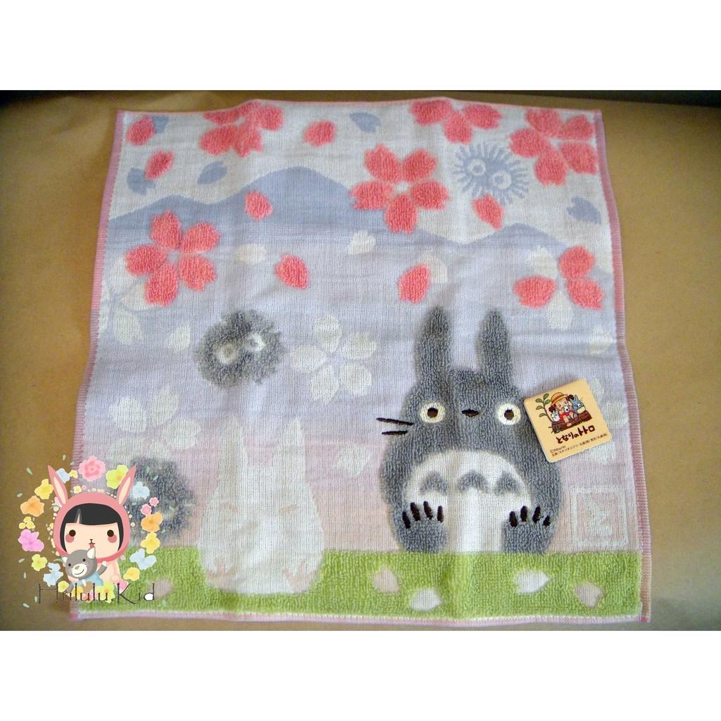 ✨ 限定✨龍貓櫻花刺繡毛巾手帕約15 15 西門町可面交