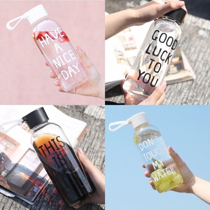 PETIT BAZAR 韓國ulzzang 旅行太空杯學生情侶便攜塑料水杯650ml