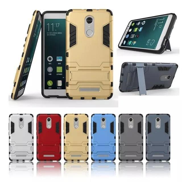 金屬感紅米NOTE 3 變形金剛鋼鐵人皮套手機殼可站立保護殼保護套保護貼小米鋼化膜