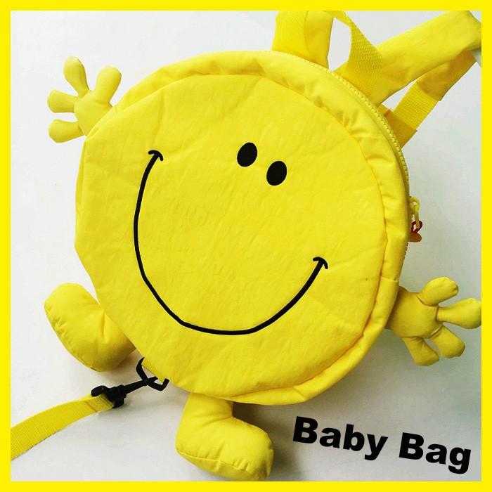 ~ANNANN ~防走失包男女童2 4 歲笑臉包包幼兒園書包雙肩包背包~TB052001