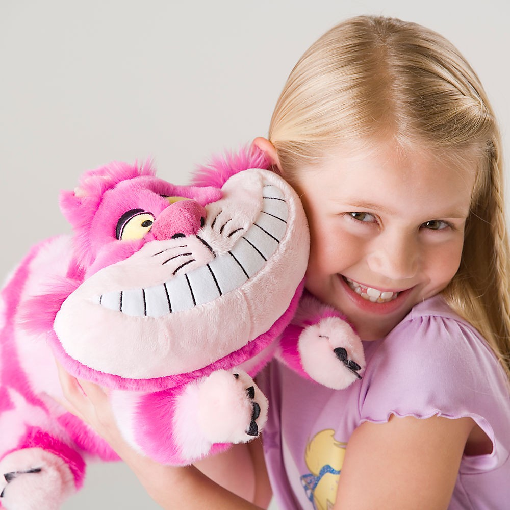~美國連線嗨心購Go ~官方正貨►美國迪士尼►Cheshire Cat 妙妙貓娃娃玩偶►2