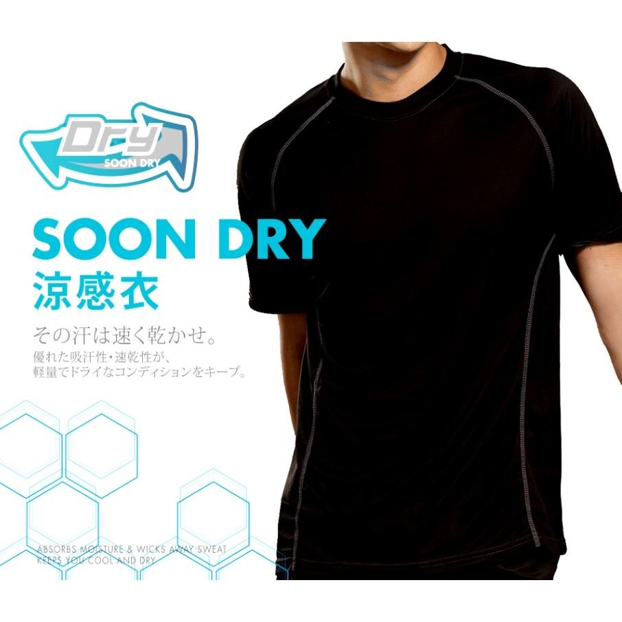 ❤ 男短袖 衣瑪榭❤瑪榭Soon Dry 透氣吸排拼接短袖 衣男涼感衣吸濕排汗高彈力