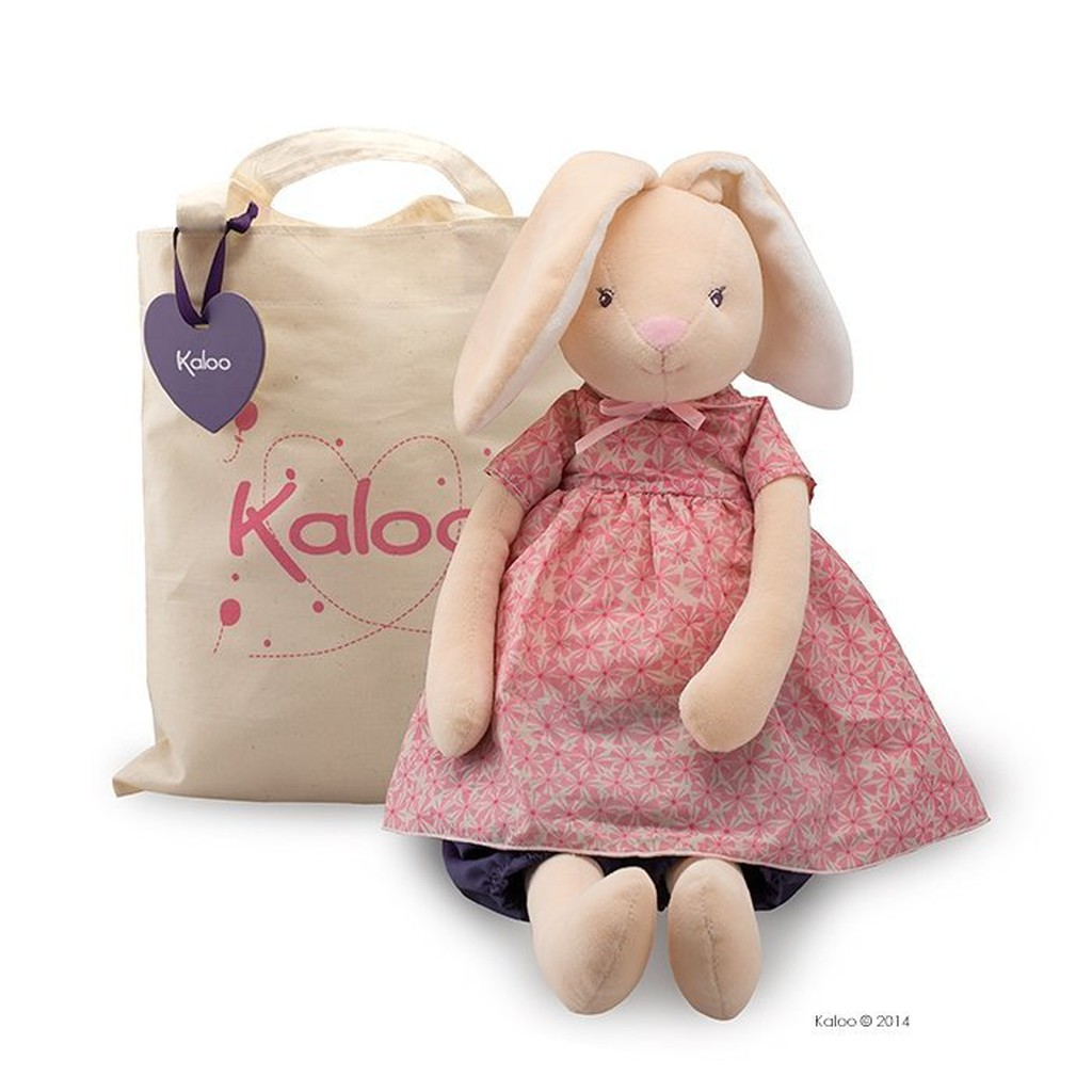 🌟正版🌟【 法國 Kaloo 】 Petite Rose Rabbit 兔兔安撫 娃娃 玩偶 (超大)