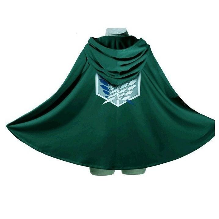 超 艾倫米卡莎兵長外套斗篷披風調查兵團自由之翼動漫周邊COS COSPLAY 進擊的巨人