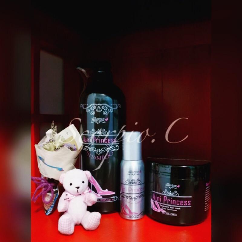 東方紫金尹花花貞紫系列愛妮公主洗髮精、養髮液、護髮膜、沐浴乳
