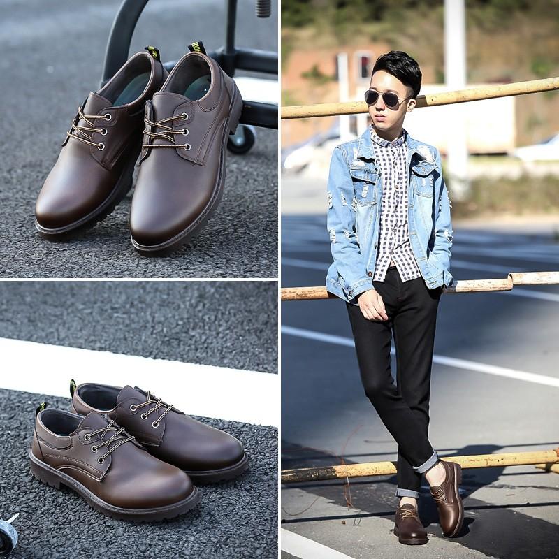 馬汀靴款男鞋系列3 色英倫 皮鞋款休閒皮鞋型男 舒適潮流商務鞋