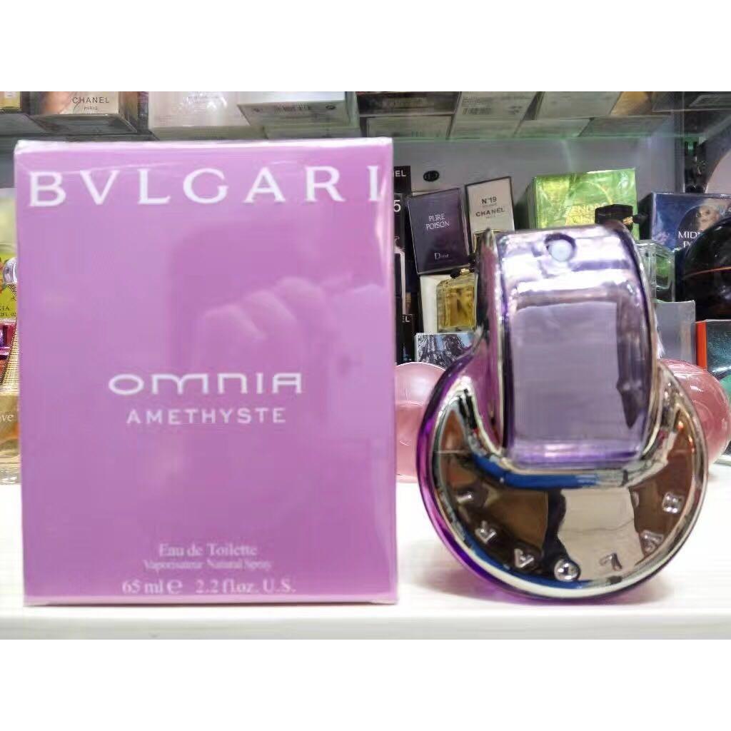 ~魅力之都~Bvlgari 寶格麗紫水晶花舞輕盈女士香水65ml