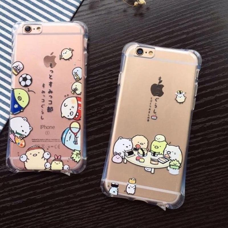 可愛角落生物iphone5 iphone6 iphone6plus 手機保護套手機殼