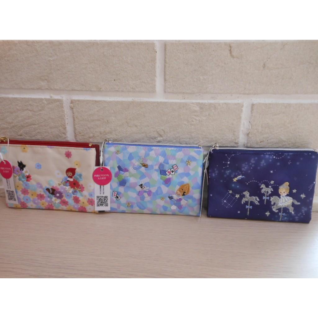 婕的店  帶回安徒生童話系列愛麗絲小紅帽面紙包錢包