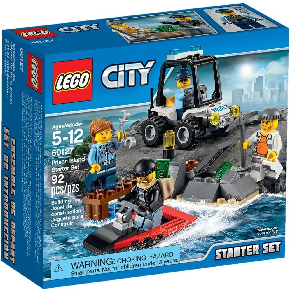 LEGO 樂高CITY 城市系列60127 監獄島入門套裝
