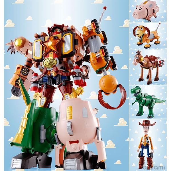 玩具之箱代理版DANDAI 超合金玩具總動員超合體大作戰胡迪機器人警長之星 未拆