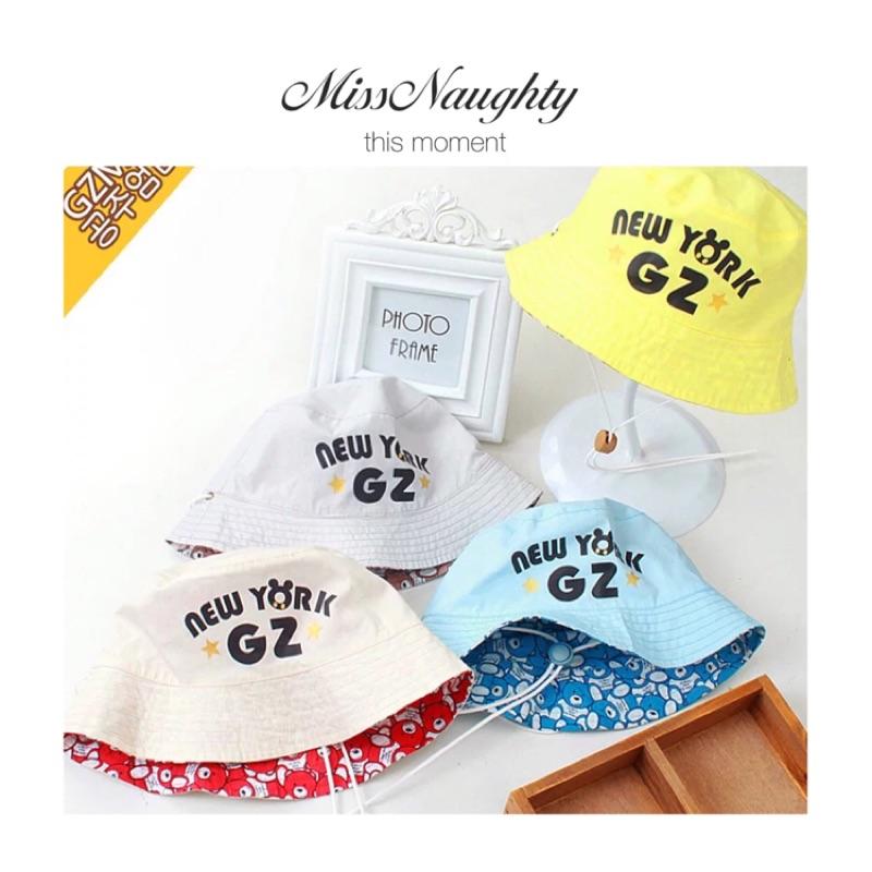 New ☄純棉兒童遮陽雙面漁夫帽