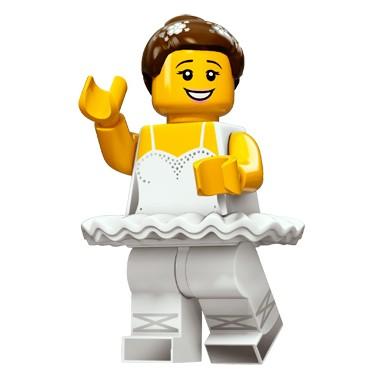 Lego 樂高71011 十五代Minifigures 人偶抽抽樂10 Ballerina