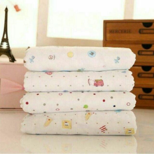 買1 送1 四層紗布浴巾,包巾,卡通紗布浴巾,全棉透氣,小被子小蓋毯,高密度四層純棉紗布巾