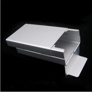 鋁合金滑蓋煙盒超薄自動彈蓋煙盒 金屬鋁合香菸