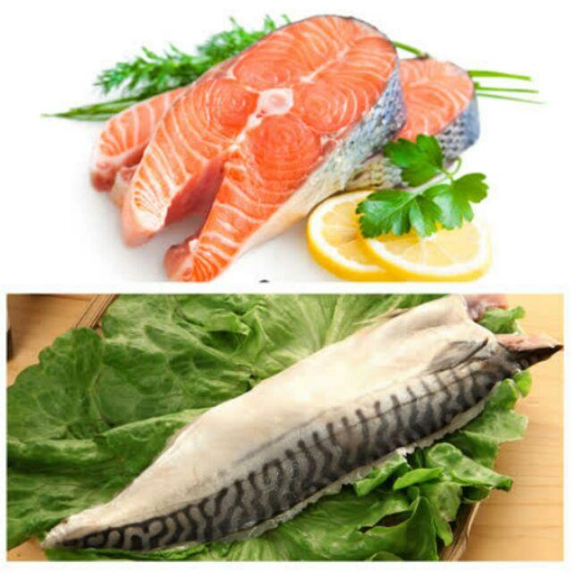 !!!買5 送5 共10 包~優食配~挪威深海鯖魚一夜干大西洋鮭魚切片5 包組