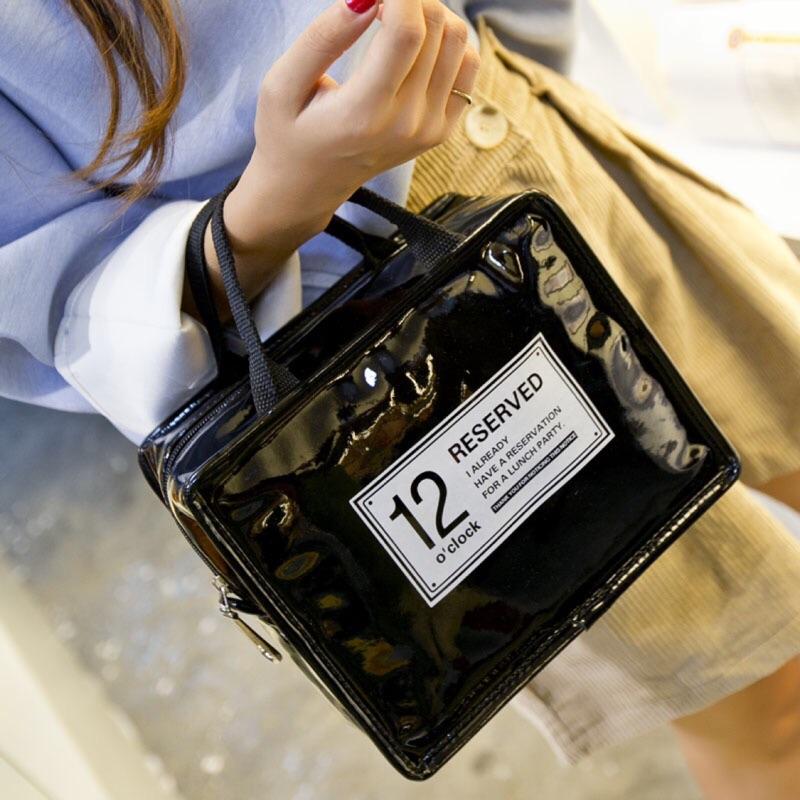 韓風 旅行化妝品收納包PU 防水洗漱包女化妝包大容量可愛小便攜手提包