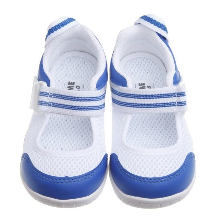 _ IFME 夏日藍白透氣網布機能室內鞋15 21 公分