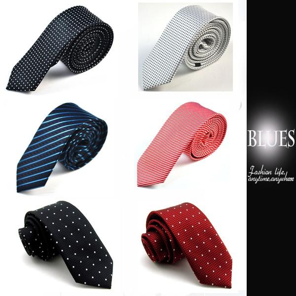 ~Blues ~N102 都會 韓系亮眼斜紋 5CM 窄版手打領帶~ ~
