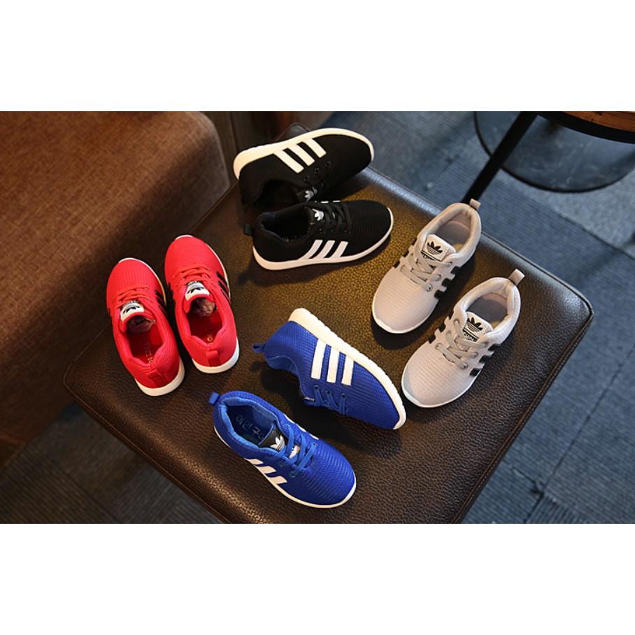 男女童透氣網鞋舒適跑步鞋輕便旅遊鞋(4 色) !