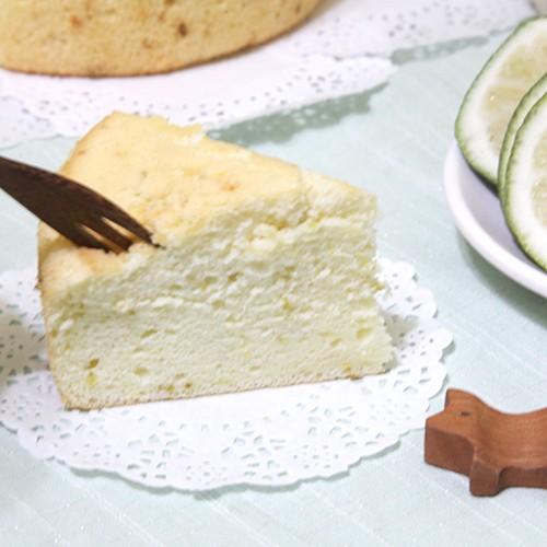 ~清新單純~6 吋檸檬親蛋糕 不含發粉及有的沒的請務必選擇~賣家配送~物流選擇~賣家配送~